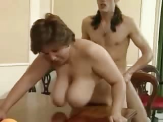 Doggystyle Mature Older SaggyTits