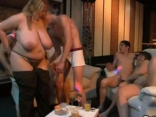BBW Big Tits Groupsex Mature Natural Old and Young Orgy Party