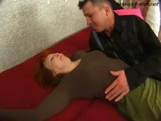 Drunk mother seduced and fucked hard by young cock