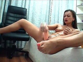 Dildo Masturbating MILF Webcam