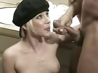 Cumshot Facial Fransk Interracial Tenåring