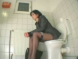 Stockings Teen Toilet