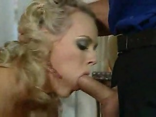 The perfect blonde takes cocks to fund her holes