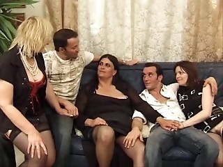 French Groupsex Mature Stockings