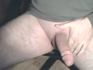 Shaved fat cock