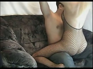 Blonde Cheating Wife sucking and riding cock on Cam