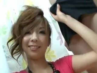 Asian CFNM Handjob Teen