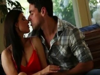 Erotic Kissing MILF Pornstar