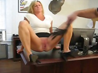 Bdsm MILF Office