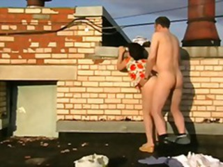 Amateur Doggystyle Outdoor