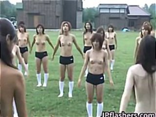 Asian half naked academy shows part1