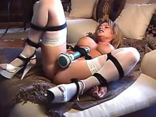 Bdsm Big Tits Bondage Dildo MILF Stockings