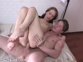 Anal Riding Teen