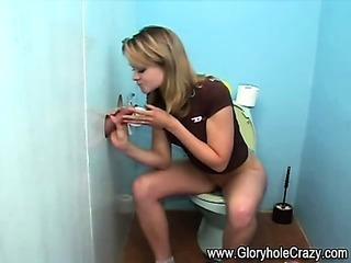 Amateur Blowjob Gloryhole Teen