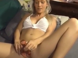Milf Likes Toys but She Prefers Unconditioned Hard Flannel in Mouth