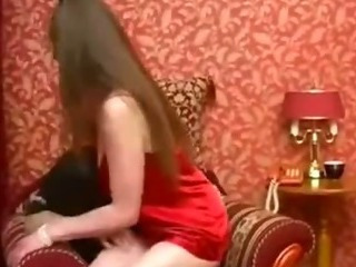 Amateur Long hair Mom Russian
