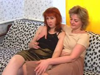 Young lesbians and a mature woman