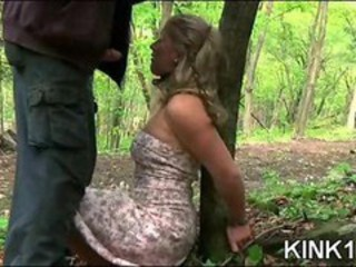 MILF Outdoor Slave
