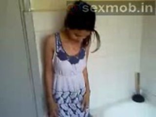 Bathroom Indian Teen