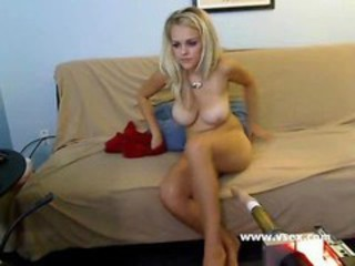 Amazing Big Tits Blonde Machine Teen Webcam