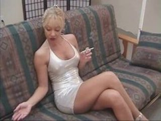 Cute Legs MILF Smoking