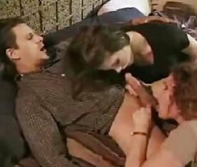 Blowjob Daughter Family MILF Mom Threesome Vintage