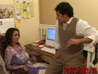 Big Tits MILF Natural Office Secretary