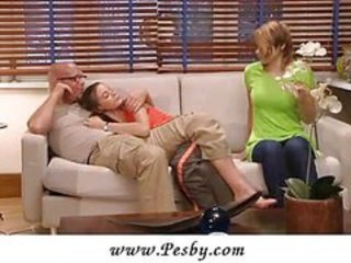 Babysitter Teen Threesome