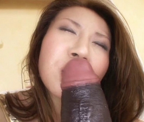 Amazing Asian Dildo Japanese MILF Solo Toy