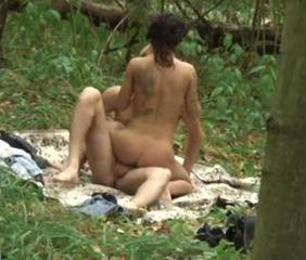 sexy teens having sex in the woods