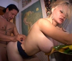 Big Tits Doggystyle European Hardcore Italian MILF Natural