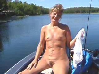 Sweet faced milf with tiny titties shows