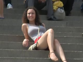 Outdoor Public Teen Voyeur