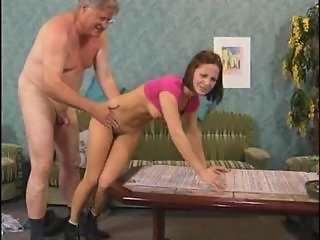 Daddy Daughter European German Old and Young Teen