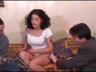 European French Teen Threesome