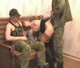 Army Doggystyle Skinny Stockings Teen Threesome Uniform