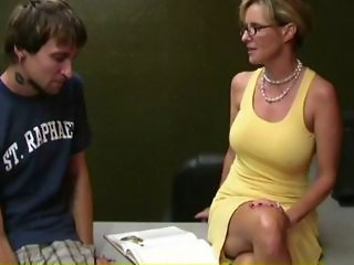 Glasses MILF Mom Old and Young