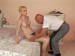 Daddy Daughter Old and Young Panty Teen