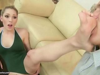Feet Fetish Teen Uniform