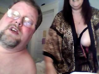Chubby Mature Couple Cam