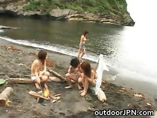 Arisa Kanno Asian babe and friends part2