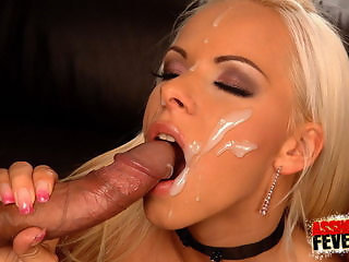 Amazing Big cock Cumshot Cute Facial MILF Pornstar Swallow