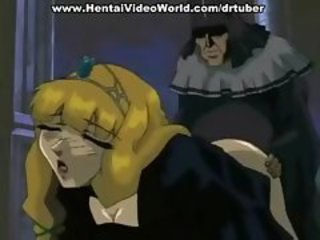 Hentai princess is fucked by her slave