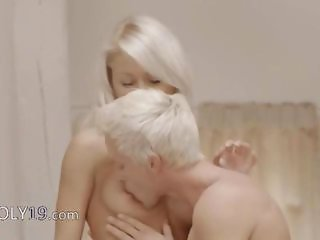 Absolutely love watching this movie of Exclusive fairhairs threesome from Sweden