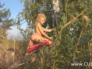 Amazing Nudist Outdoor Teen