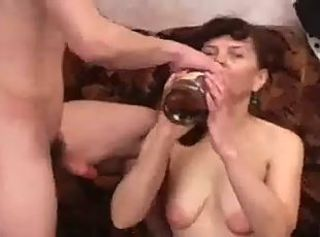 Amateur Drunk Mature Mom Old and Young Russian SaggyTits
