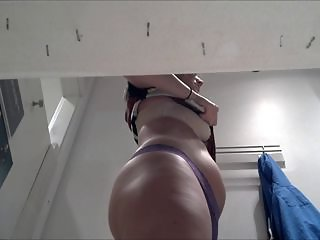 "Hottie with Purple thong (lots of slo mo)"" target=""_blank"
