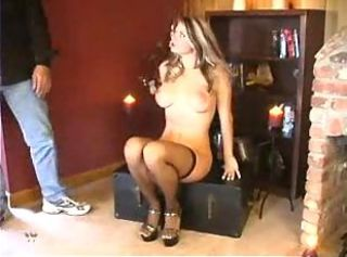 MILF Spanking Stockings