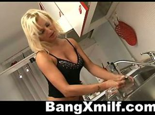 Anal Cute Kitchen MILF