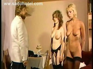 MILF Slave Stockings Threesome Vintage